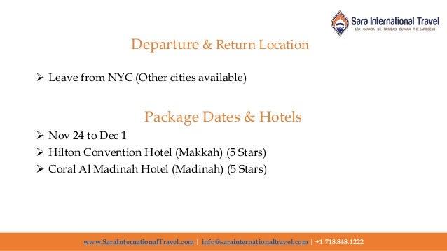 Best Hajj 2020 and Umrah Travel Agent in USA | Sara ...