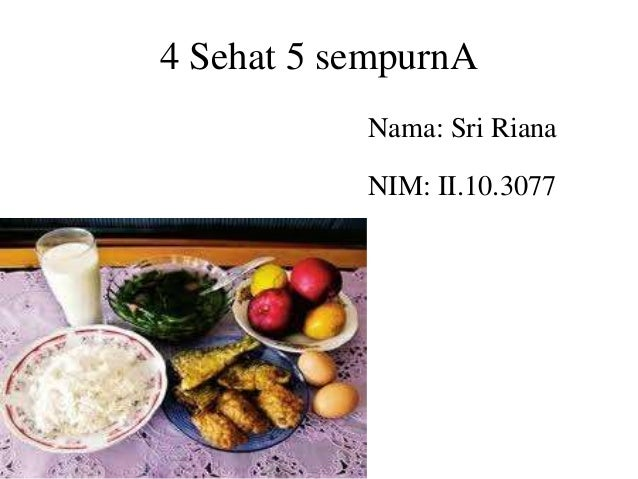 53+ Gambar Makanan 4 Sehat 5 Sempurna Kartun Paling Hist