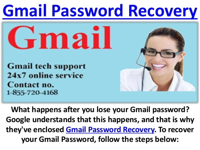 need to recover gmail password