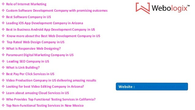 Who Provides Top Functional Testing Services In California