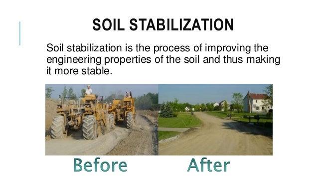 Soil stabilization by using ggbs for Soil stabilization