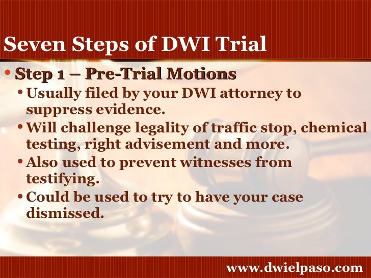 Criminal Trial Procedures: An Overview
