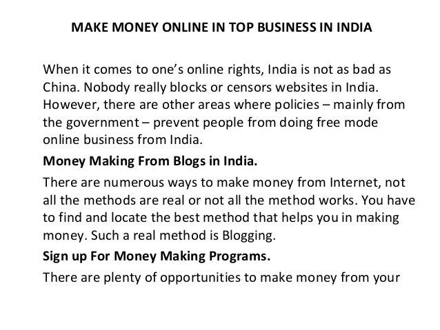 write articles for money in india