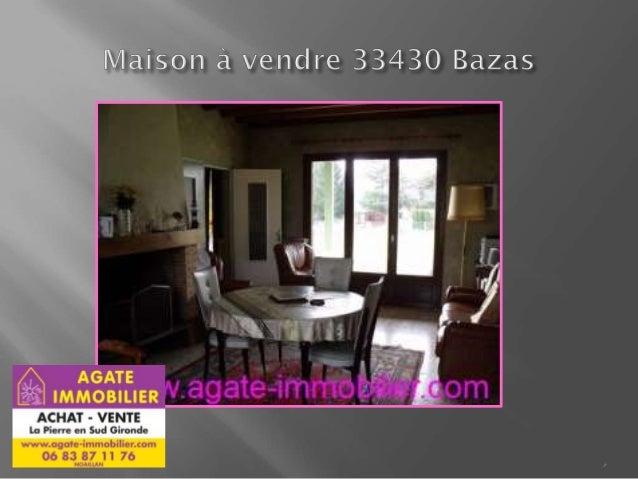 Vente maison petit prix 33430 bazas gironde for Maison aquitaine prix