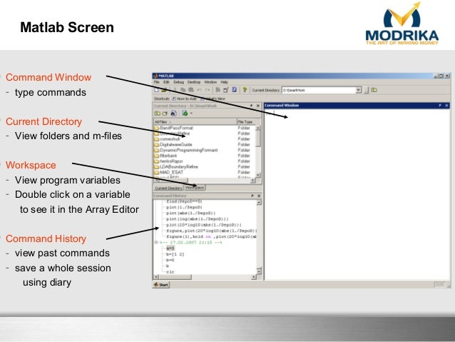 Introduction to Matlab for finance-Modrika