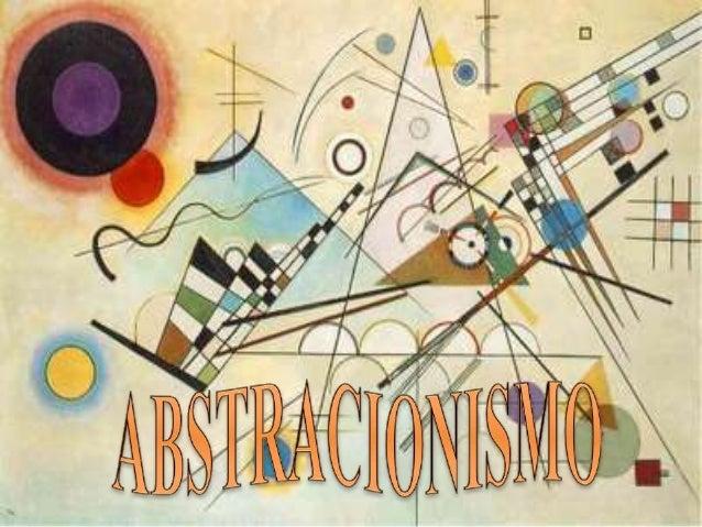 Arte abstrata ou abstracionismo é um estilo artístico moderno em que os objetos ou pessoas são representados, em de pintur...
