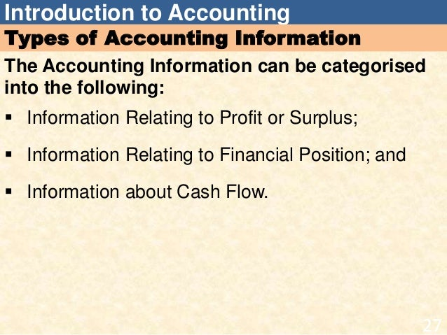 introduction accounting theory Determining the framework of accounting theory leads to the possibility of an   professional practice, especially in the field of presentation and disclosure of.