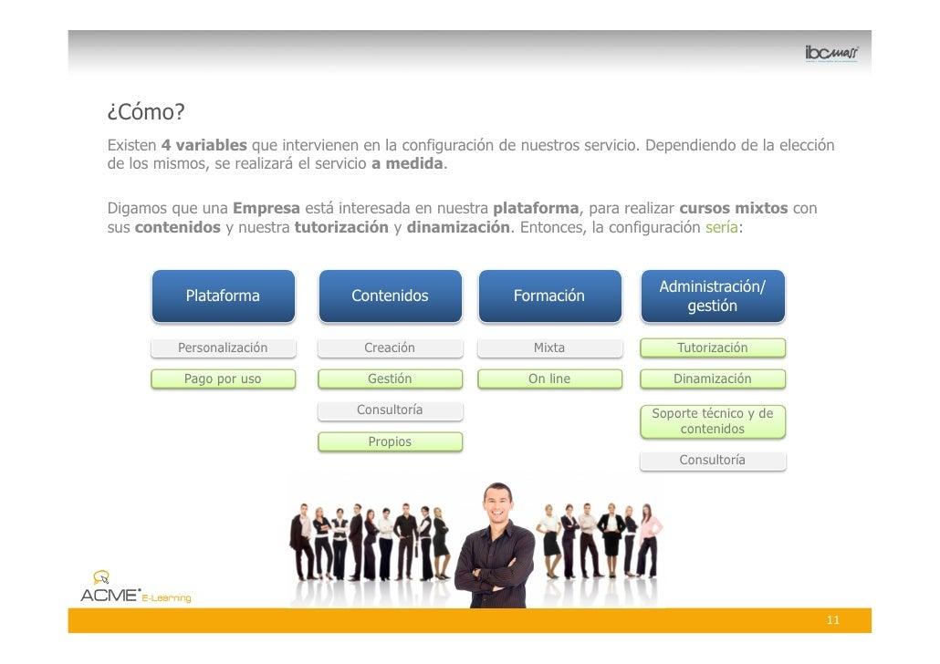 ¿Cómo? Existen 4 variables que intervienen en la configuración de nuestros servicio. Dependiendo de la elección de los mis...