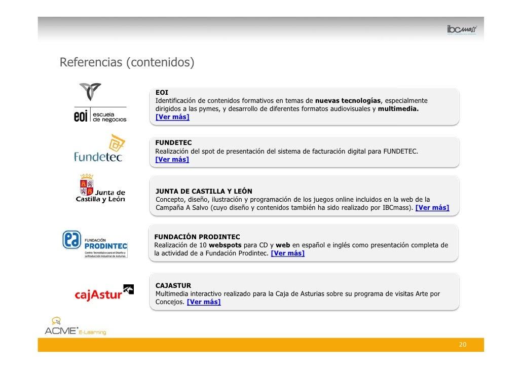 Referencias (contenidos)                   EOI                  Identificación de contenidos formativos en temas de nuevas...