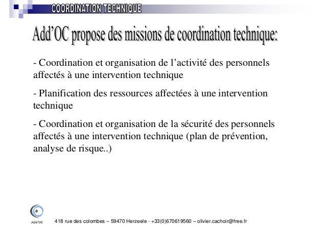 Add Oc - Gestion de projets Industriels Slide 3