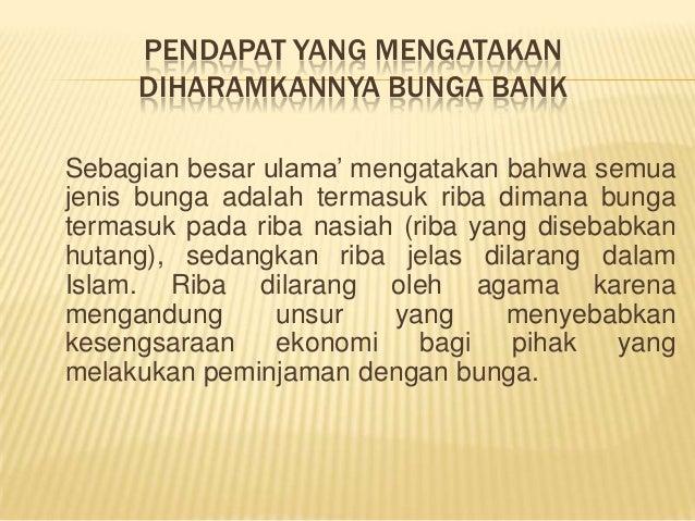 Apakah Meminjam Uang Di Bank Termasuk Riba - Seputar Bank