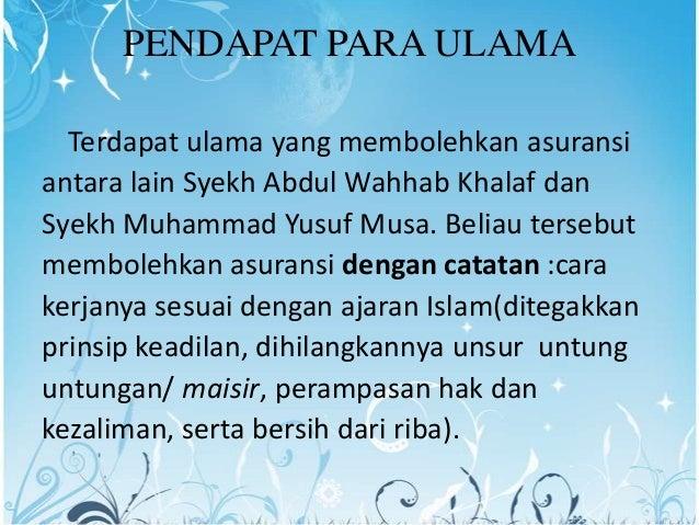 Image Result For Landasan Hukum Operasional Asuransi Syariah