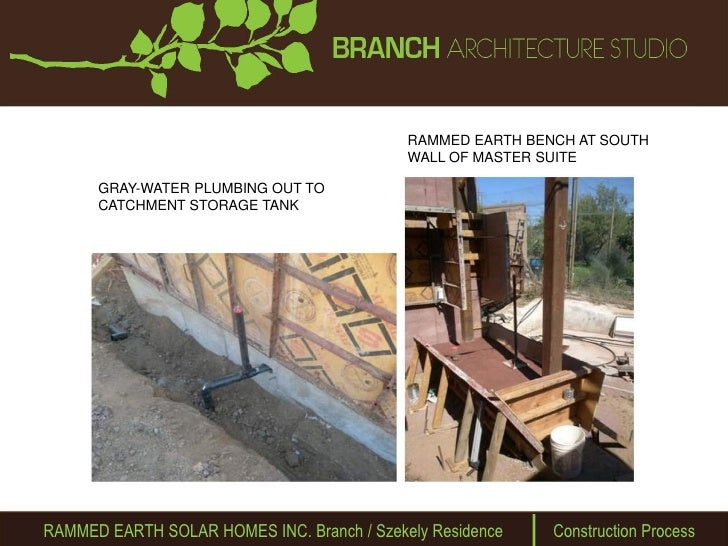 Rammed Earth Solar Homes Updated Ppt