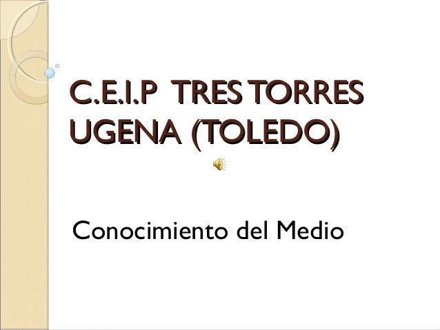 C.E.I.P TRES TORRES UGENA (TOLEDO) Conocimiento del Medio