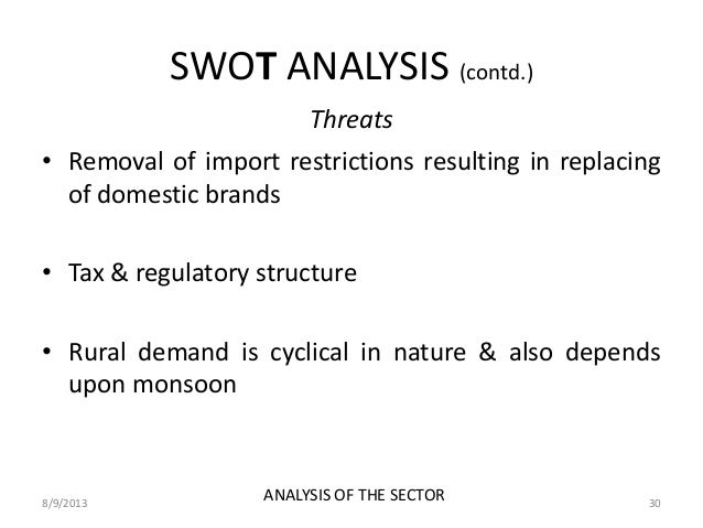 small scale industries swot analysis in india Its small-scale mining sector consists mainly of coal and iron ore, but due to lower commodity prices, because of a slowdown in the chinese economy, the mining sector is under pressure overview business opportunities and risks.