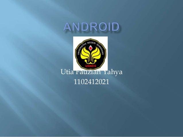 Utia Fauziah Yahya 1102412021