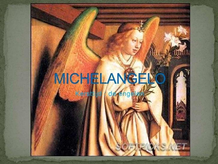 Kersttijd : de engelen<br />MICHELANGELO<br />