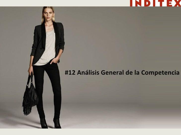 #12 Análisis General de la Competencia