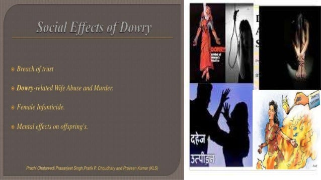 Write an article on the evils of dowry system