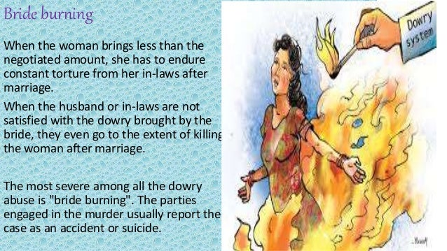 Essay on in favour of dowry