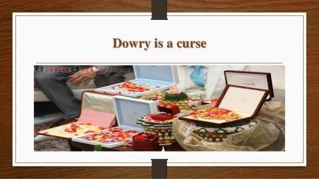 1343 Words Essay on Dowry: A Curse for Society (free to read)