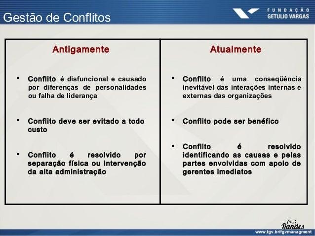 Gestão de Conflitos                      Conflito e Desempenho    Alto    Desempenho                 A            B       ...