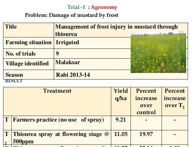 Annual Progress Report 2014-15(Part2) KVK Sardar Shahr , Churu Slide 2