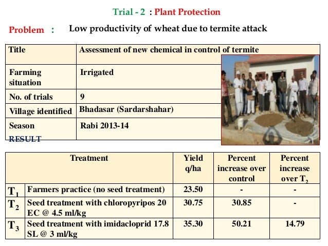 Annual Progress Report 2014-15(Part2) KVK Sardar Shahr , Churu Slide 3