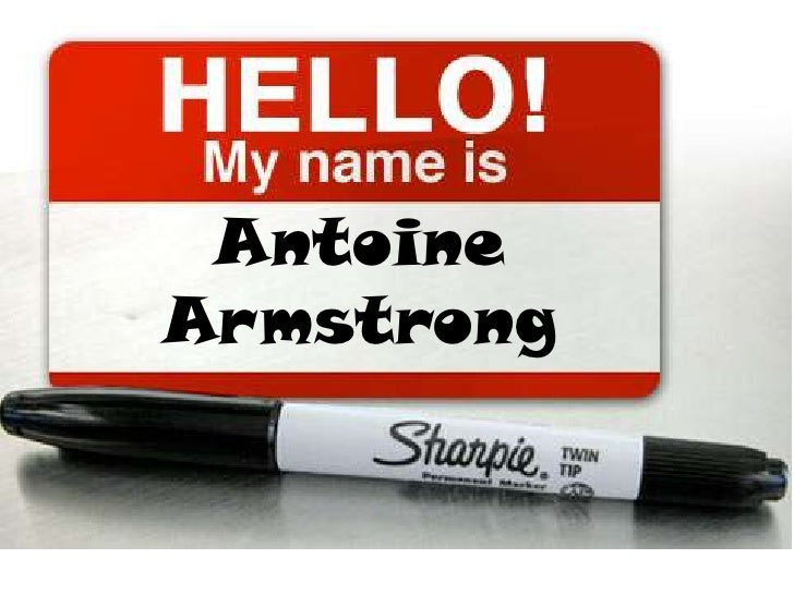 Antoine Armstrong<br />