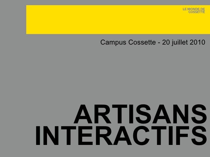 Artisans Interactifs