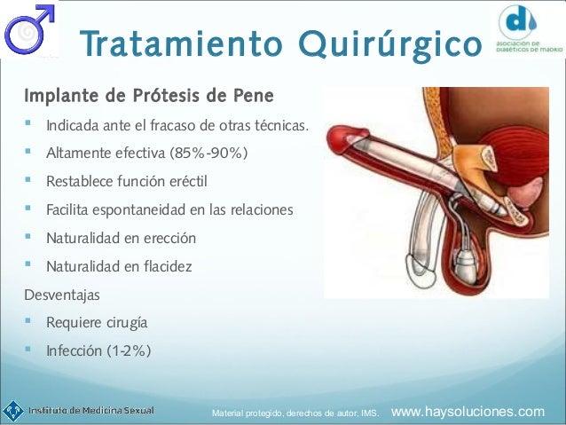 protesis peneanas para diabeticos
