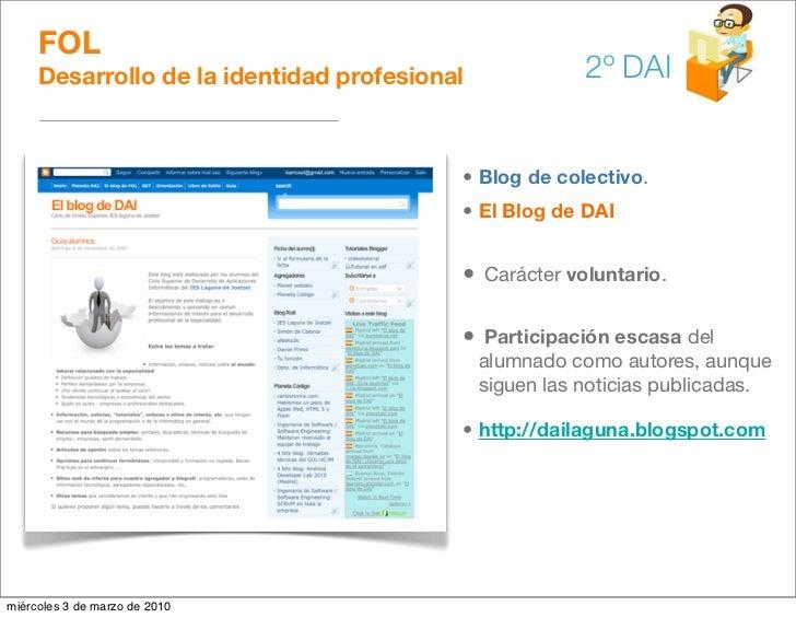 FOL      Desarrollo de la identidad profesional              2º DAI                                             • Blog de ...