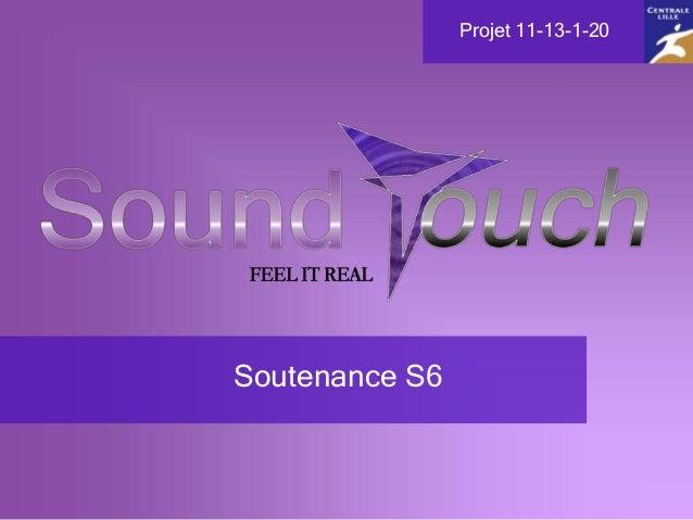 Soutenance S6 Projet 11-13-1-20