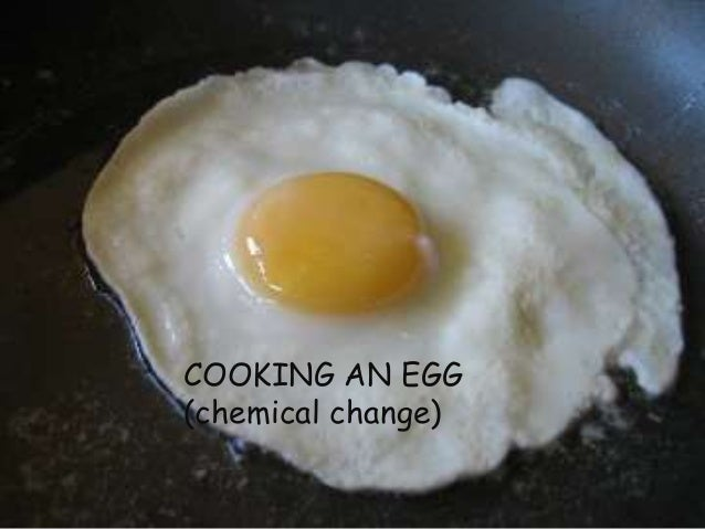 Cake Chemical Reaction