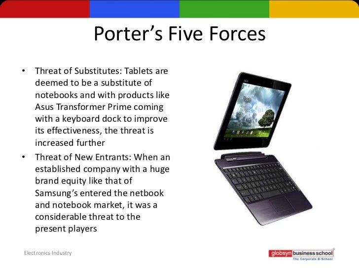 Tablet pc industry porter five forces