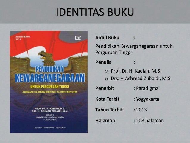 Ebook Pendidikan Pancasila Kaelan