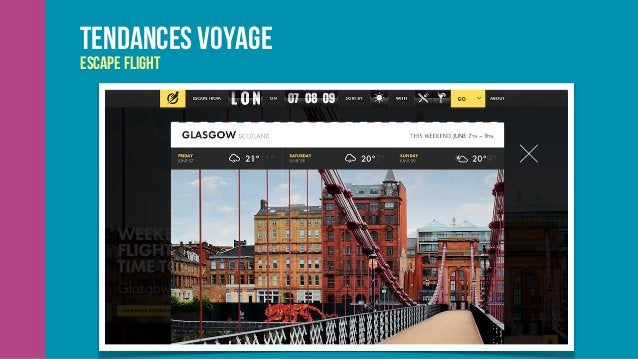 Tendances voyage JWC Travel: Changing Course