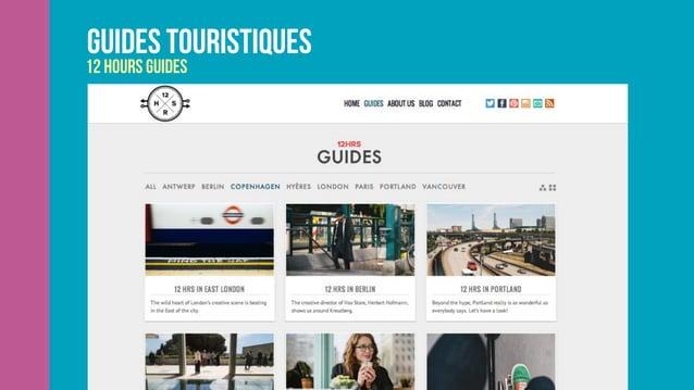 Guides touristiques 12 hours guides