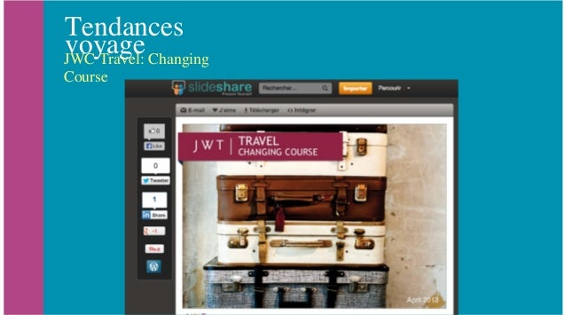 Tendances voyageJWC Travel: Changing CoursePeer powered travel