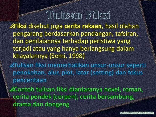 Jenis Tulisan Dan Kerangka Karangan Bahasa Indonesia