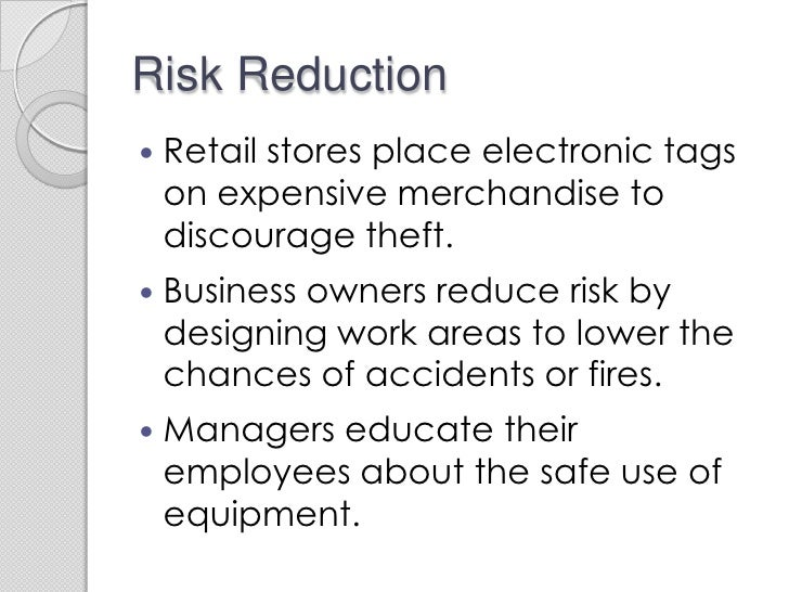 Types of business risk ppt