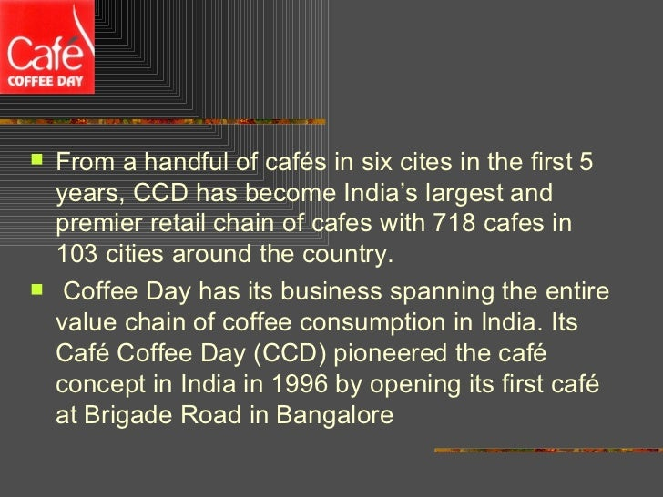 objectives of cafe coffee day Caf coffee day enhances customer experience with axis network surveillance cameras our objective was to implement a surveillance system that goes beyond ensuring security and actually serves as a tool to enhance the overall operational efficiency.
