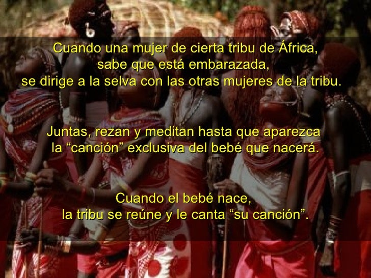 Cuando una mujer de cierta tribu de África, sabe que está embarazada, se dirige a la selva con las otras mujeres de la tr...