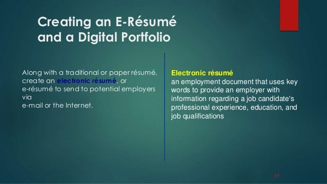 How To Create Your Electronic Resume In LinkedIn Resume Format Web  Carpinteria Rural Friedrich  E Resume