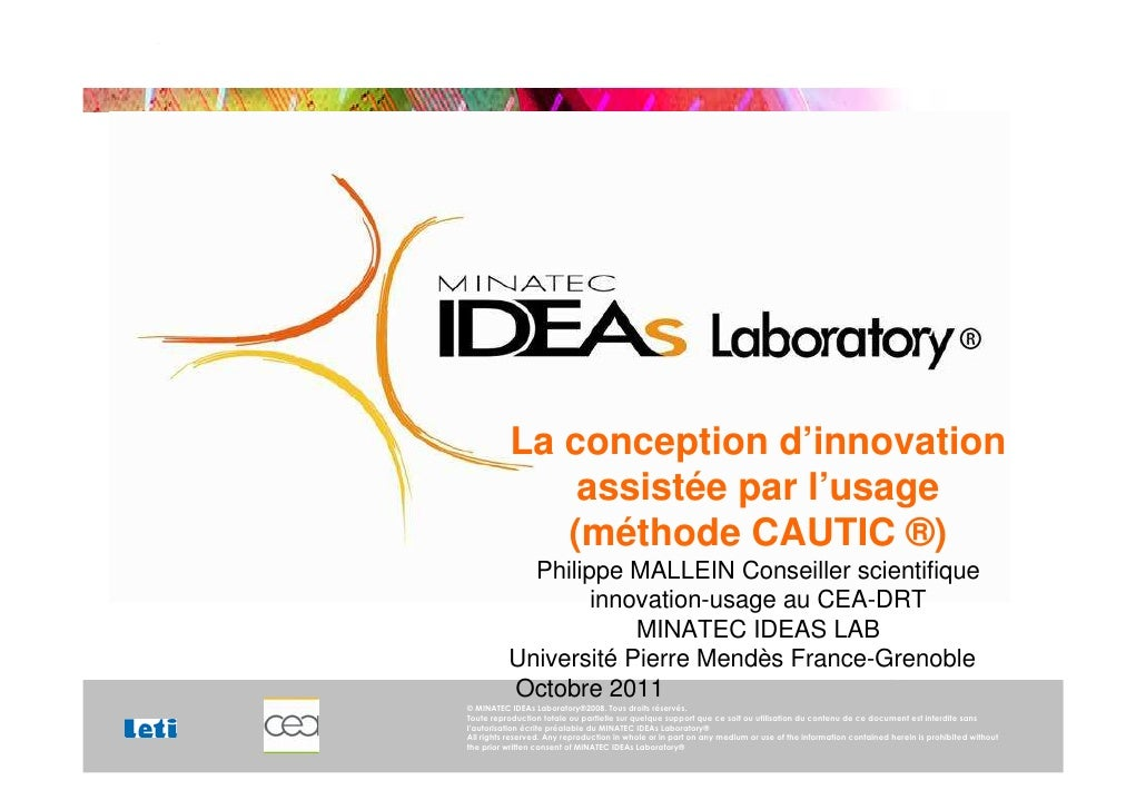 La conception d'innovation                                                                                            assi...
