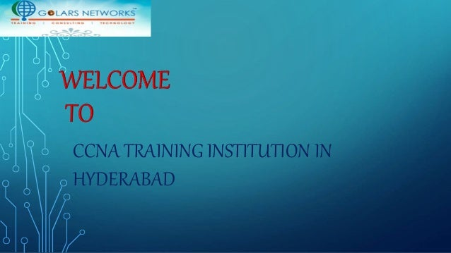 CCNA Training, Networking Courses Hyderabad, Cisco Certified