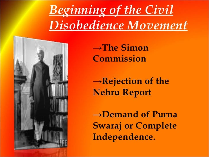 disobedience of the civil