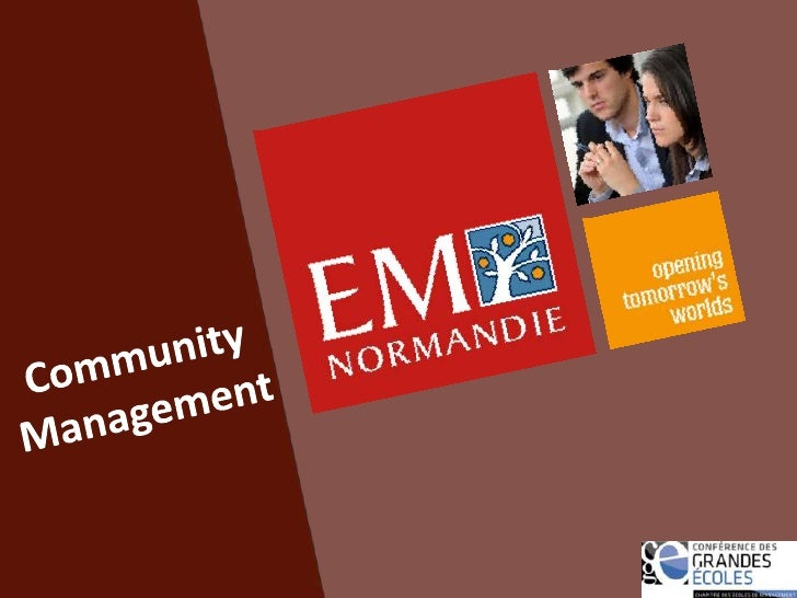 Community Management<br />