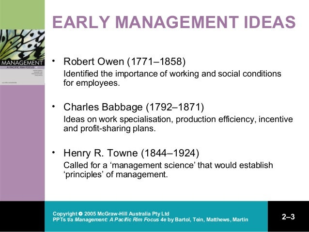 pioneering ideas in management Ppt ch02