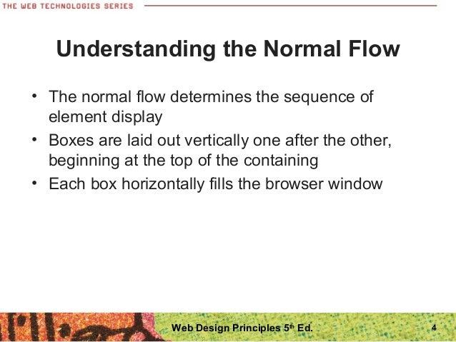 Principles of web design 5th edition